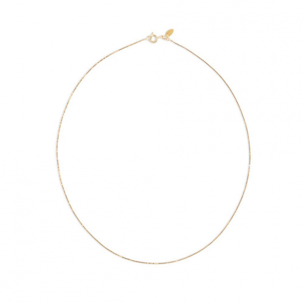By Thiim 8 KT Gold Box Chain 42 cm