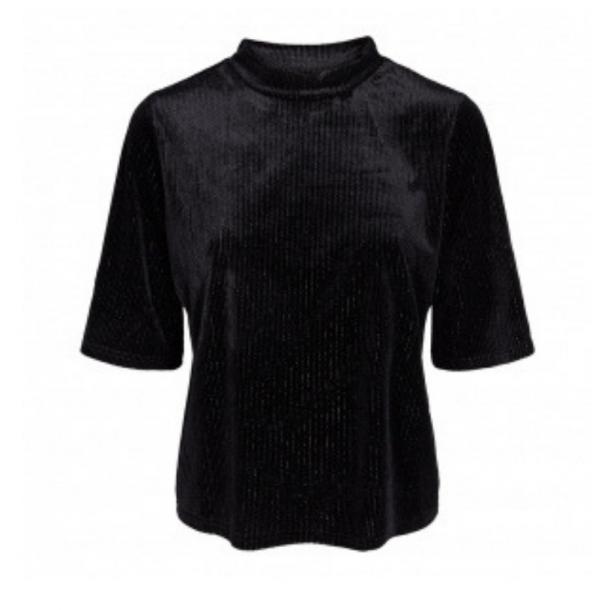 Co'couture Sawan Velvet Blouse