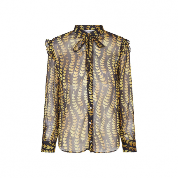 Co'couture Oat Tie Shirt