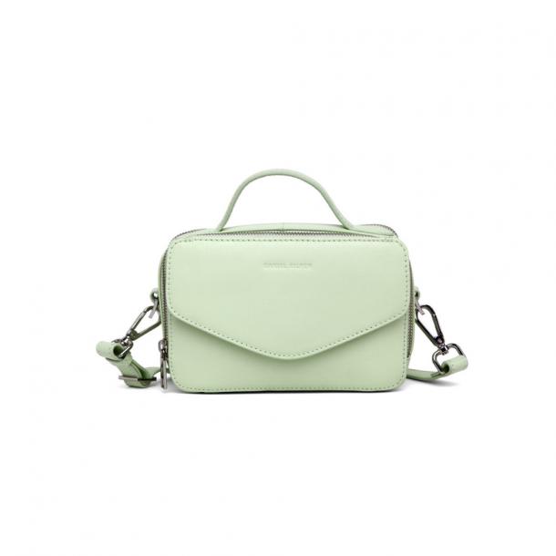 Daniel Silfen Emma Handbag Lime Cream