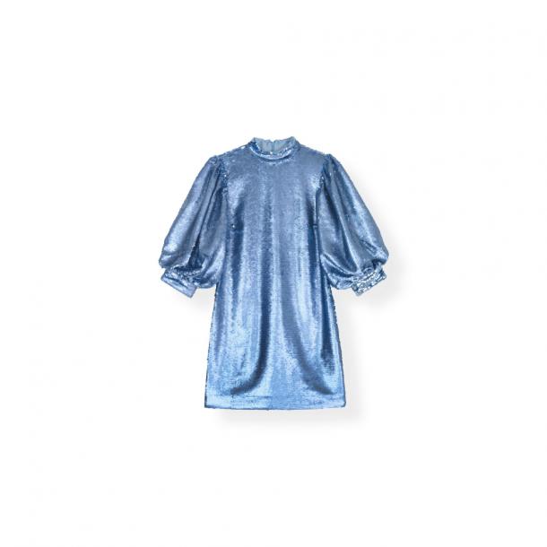 Ganni Sequins Mini Dress