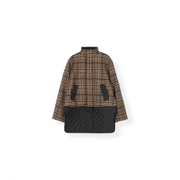 Ganni Tech Wool Jacket
