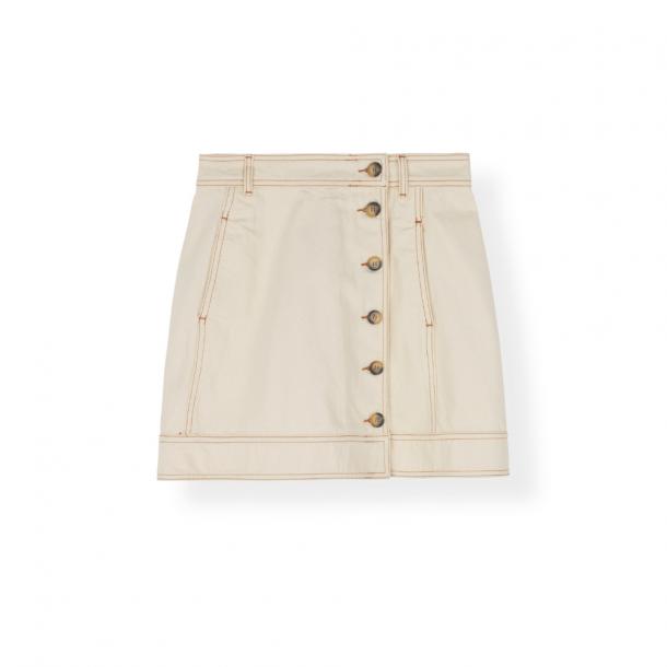 Ganni Skirt Heavy Twill