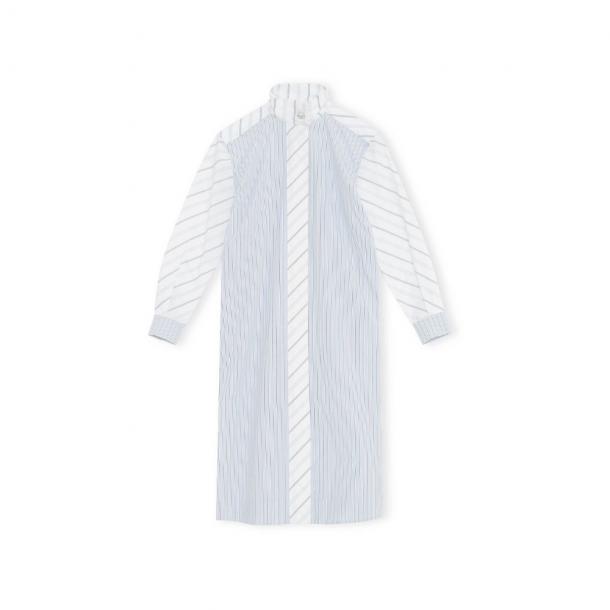 Ganni Shirt Dress Shirting Cotton