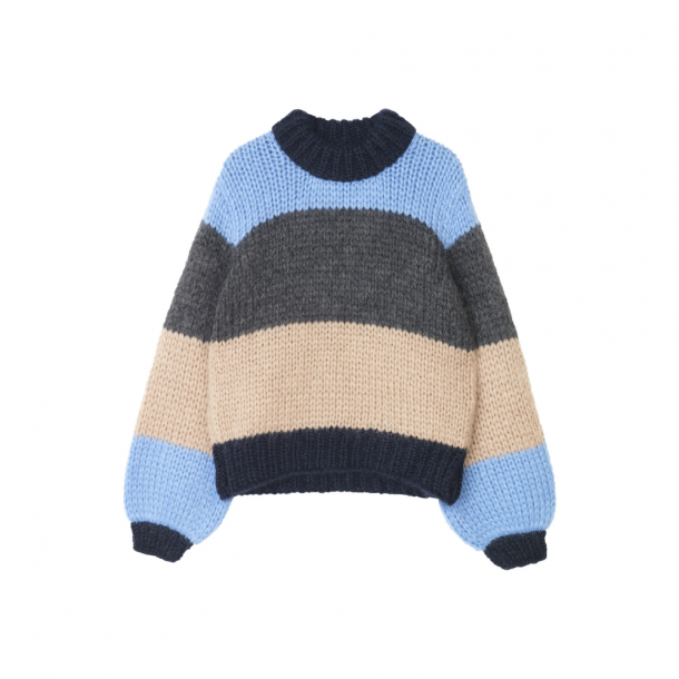 Ganni The Julliard Mohair Stripe