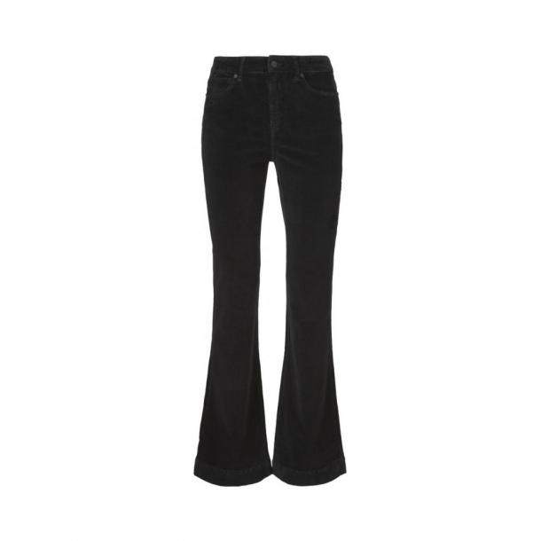 Ivy Copenhagen Tara Flare Jeans Baby Cord Black