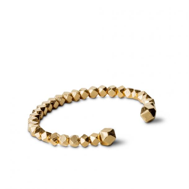 Jane Kønig Chunky Bead Bracelet Guld