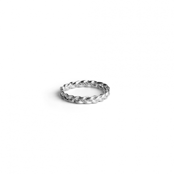 Jane Kønig Medium Braided Ring S