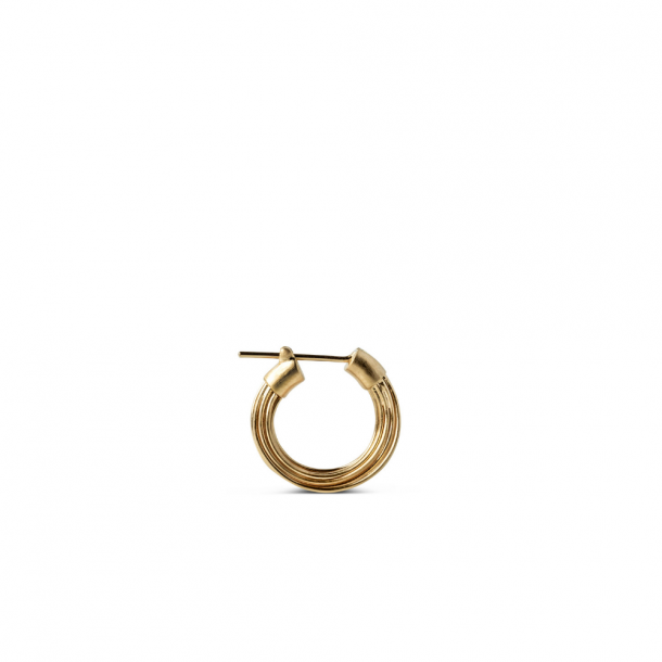 Jane Kønig Small Wire Earring GD