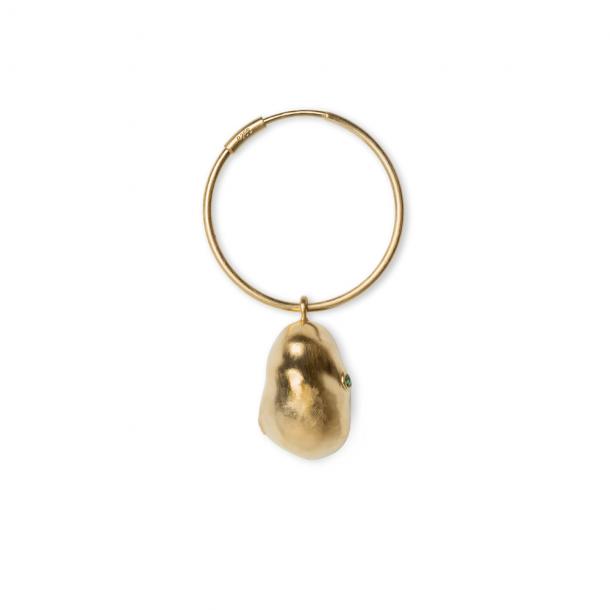 Jane Kønig Baroque Earring Forgyldt