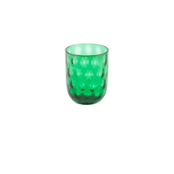 Danish summer tumbler green small big drops