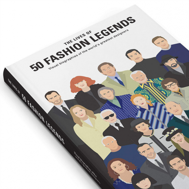NEW MAGS The Lives of 50 Fashion Legends