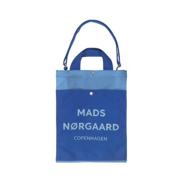 Mads Nørgaard Tote Bag Blue