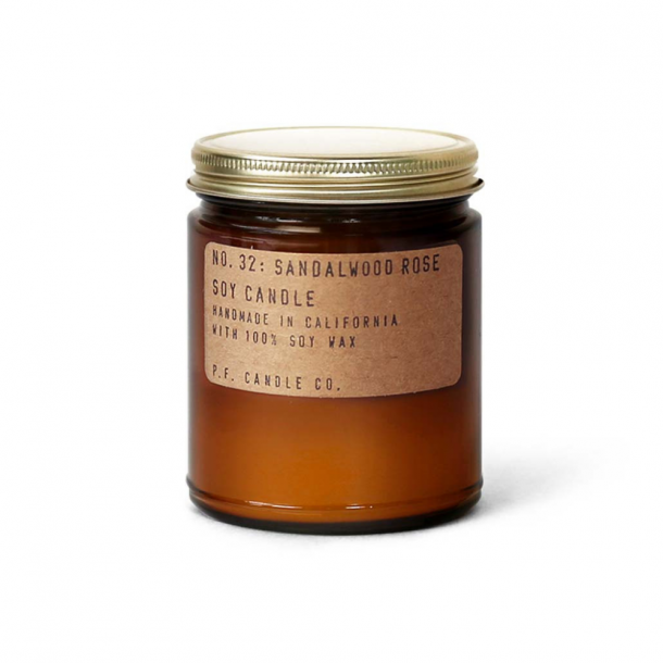 P.F. CANDLE CO. NO.32 Sandalwood Rose Candle