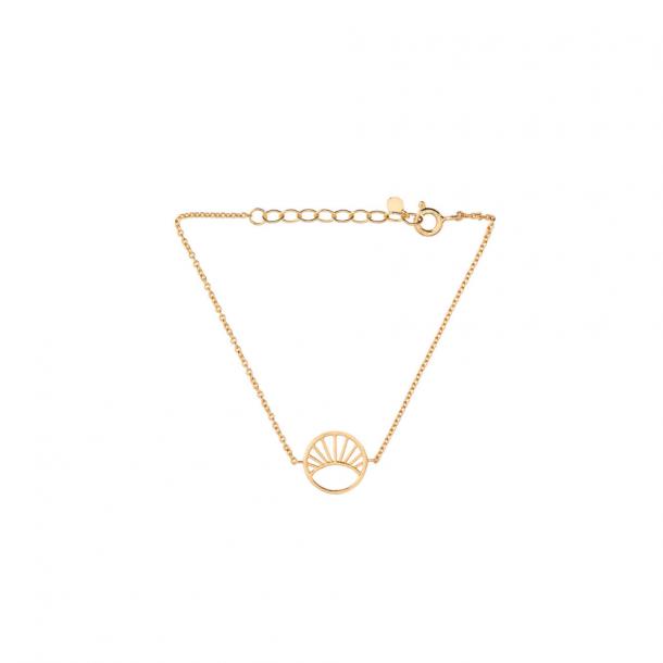 Pernille Corydon Daylight Bracelet Small Forgyldt