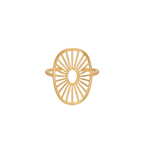 Pernille Corydon Daylight Ring Forgyldt