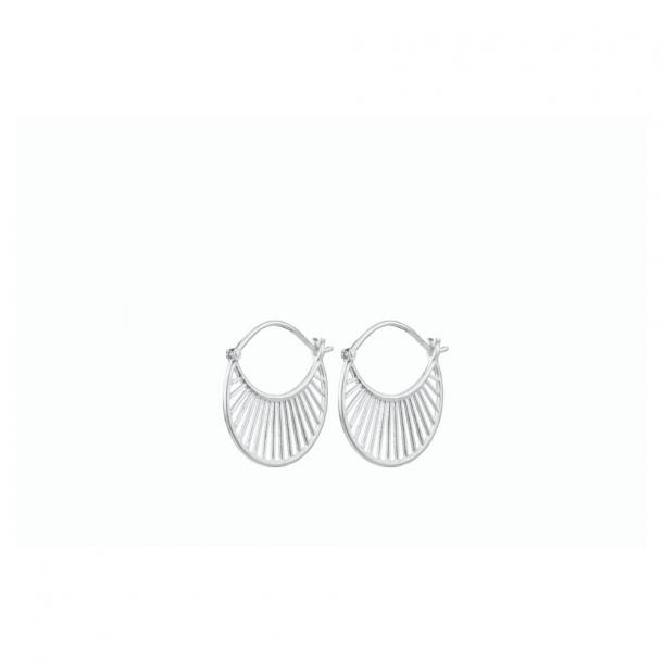 Pernille Corydon Large Daylight Earrings Sølv