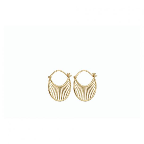 Pernille Corydon Daylight Earring Forgyldt