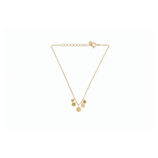 Pernille Corydon Mini Coin Bracelet Forgyldt