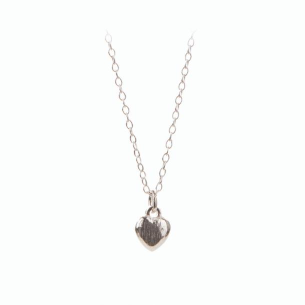 Pernille Corydon Mini Heart Necklace Sølv