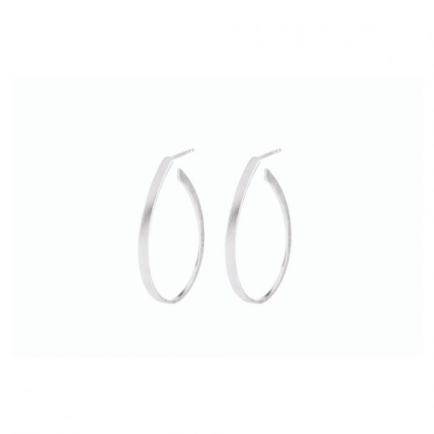 Pernille Corydon Oval Creoles