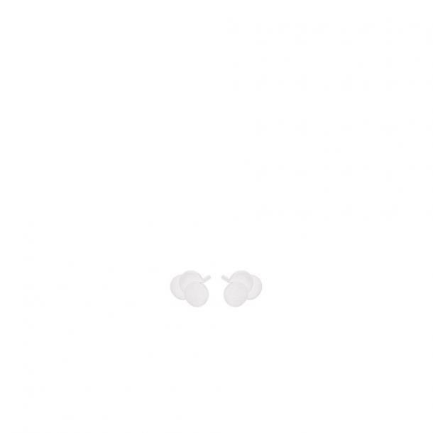 Pernille Corydon Triple Coin Earsticks Sølv