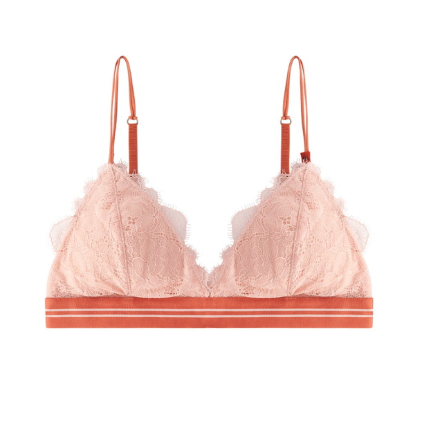 Love Stories Darling Bra Padded Blush knit