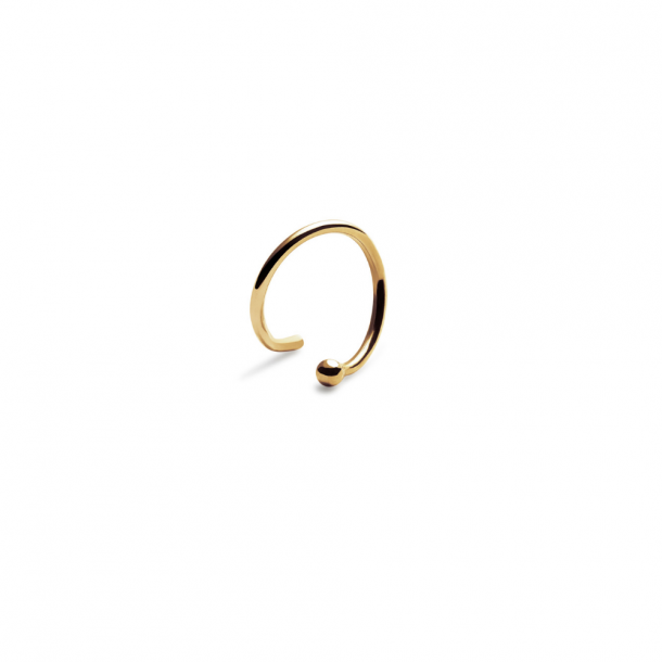 Trine Tuxen Bullet Spiral Gold Plated