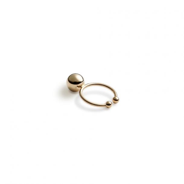 Trine Tuxen Ear Bullet Gold Plated