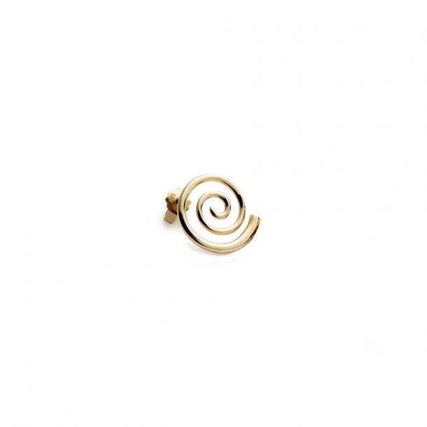 Trine Tuxen Snail Earring Gold Plated