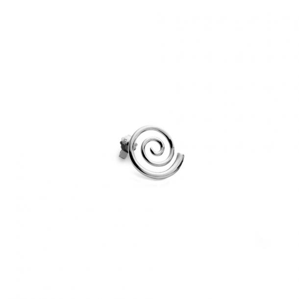 Trine Tuxen Snail Earring Silver
