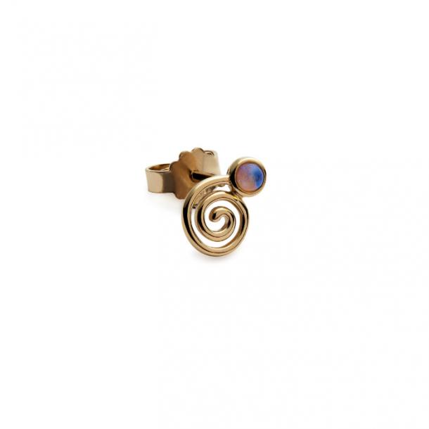 Trine Tuxen Snail Stud Opal