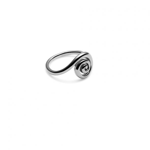 Trine Tuxen Snail Ring Silver