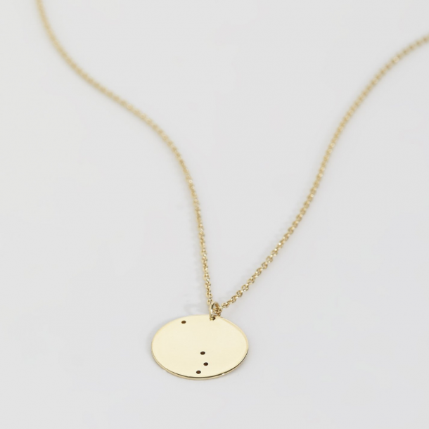 Trine Tuxen Aries Necklace Forgyldt
