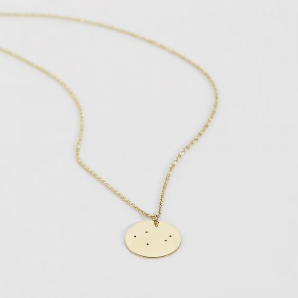 Trine Tuxen Libra Necklace Forgyldt