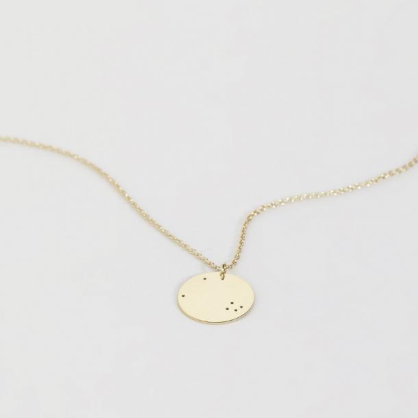 Trine Tuxen Taurus Necklace Forgyldt
