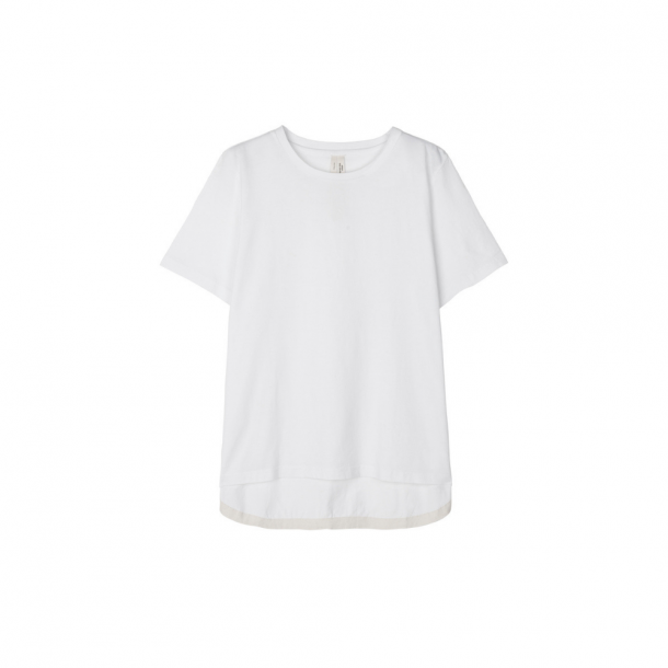 Aiayu Circle Logo Tee White