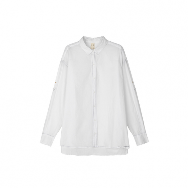 Aiayu Circle Shirt White