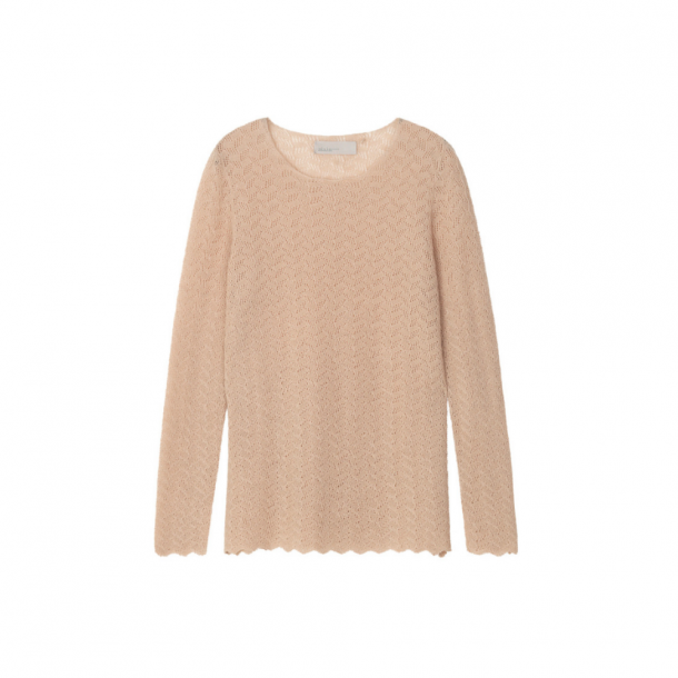 Aiayu Wind Blouse Pearl