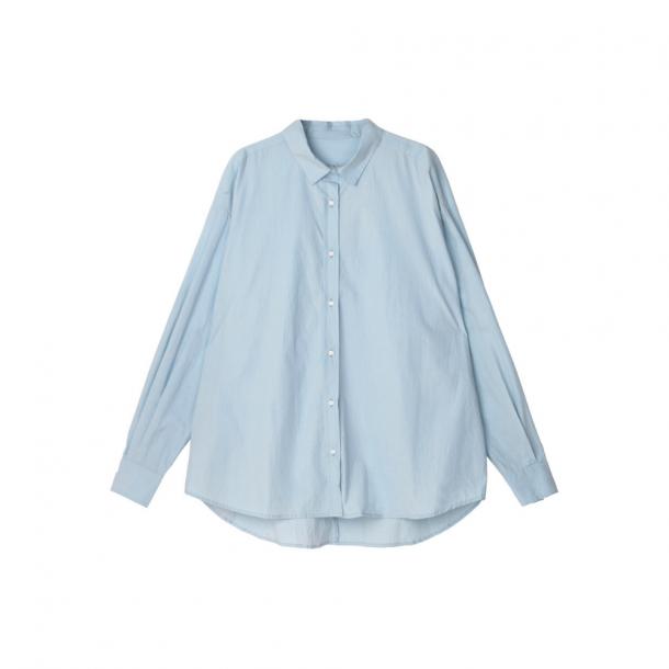 Aiayu Essential Poplin Shirt Blue