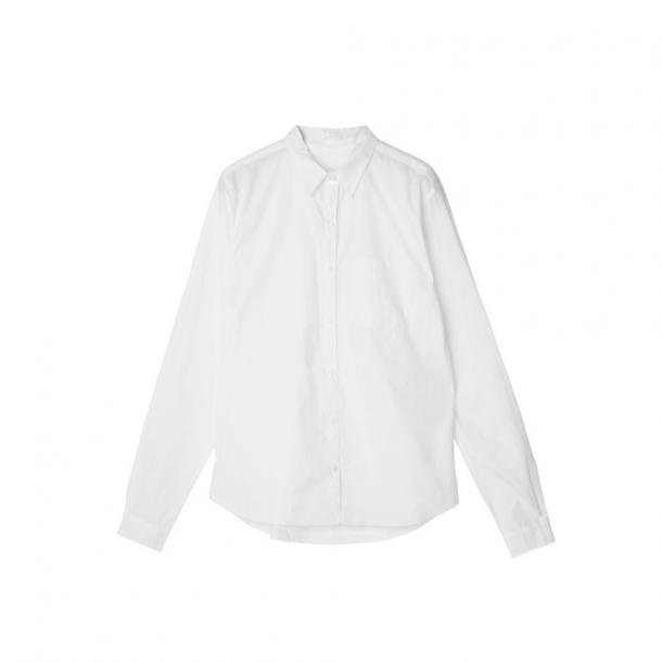 Aiayu Essentials Poplin Shirt White
