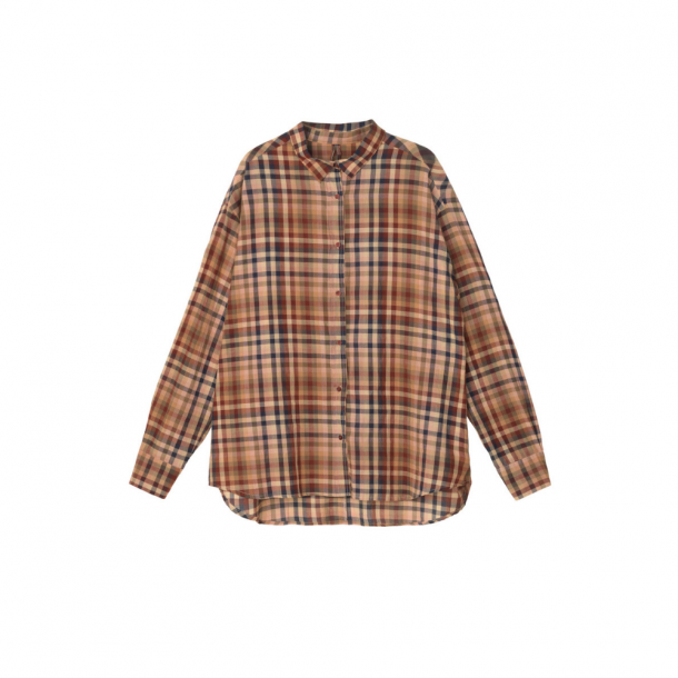 Aiayu Mix Checked Shirt