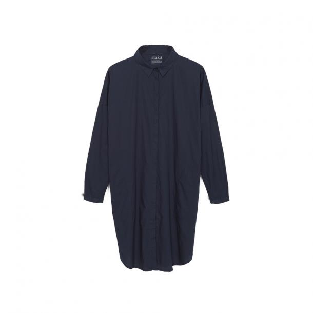 Aiayu Shirt Dress Navy