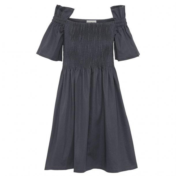 Blanche Ciola Smock Dress Graphite