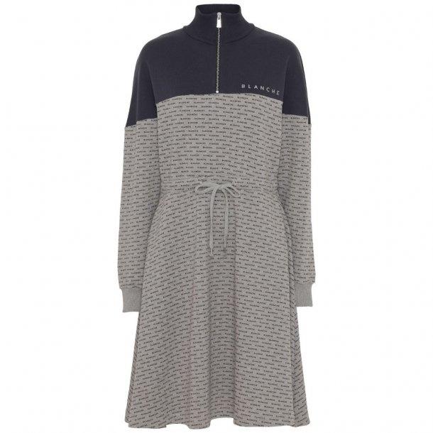 Blanche Nanne Dress Sweatshirt Light Grey Melange
