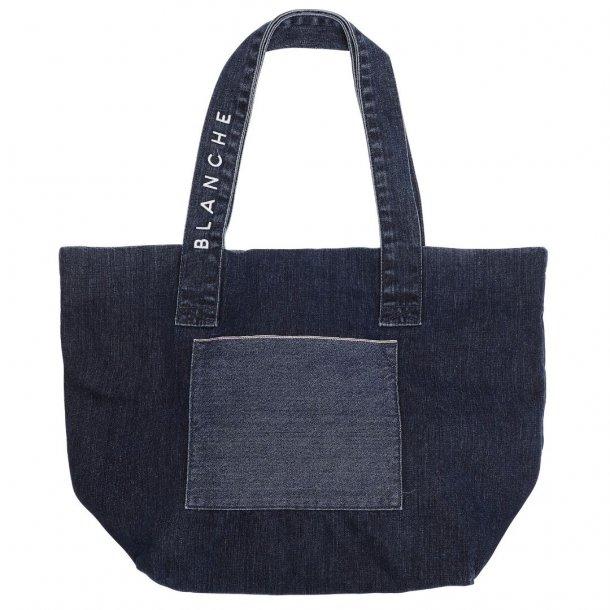 Blanche Tote Denim Bag