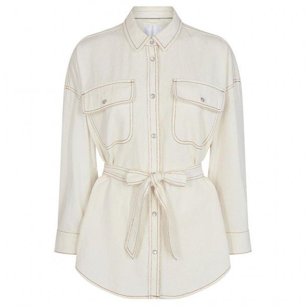 Co'couture Maxine Shirt Bone