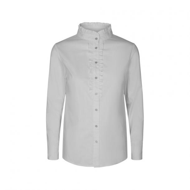 Co'Couture Frill Poplin Shirt