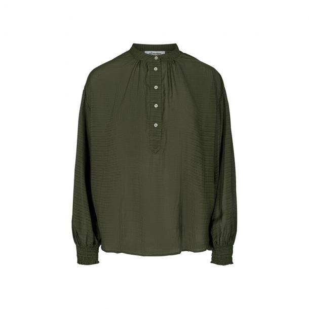 Co'couture Pauline Shirt Dark Army