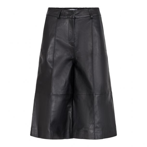 Co'couture Leather Bermuda
